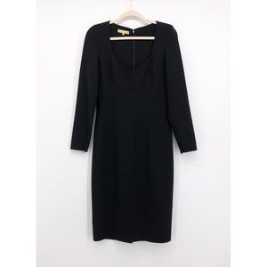 MICHAEL KORS Collection Stretch Wool Crepe Dress
